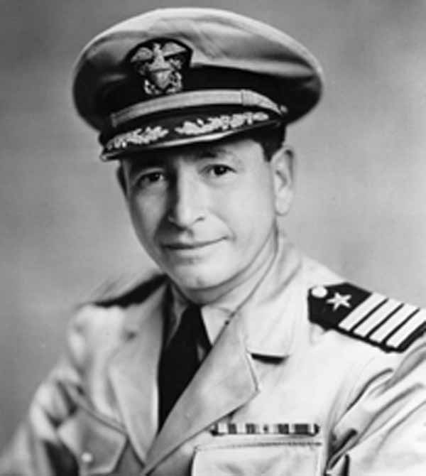 Admiral Ellis M. Zacharias (January 1, 1890 – June 27, 1961).
