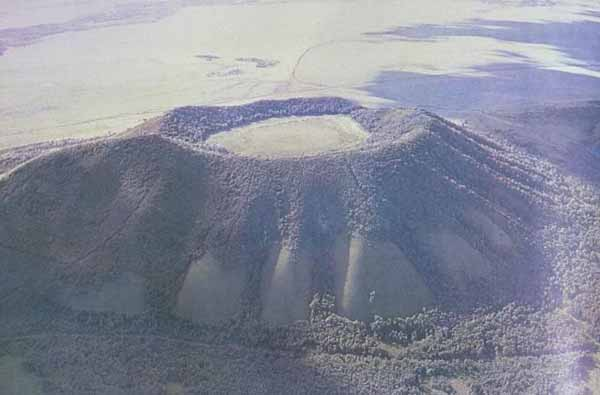 The Wudalianchi  volcano.